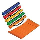 5x Strandmatte / Größe: 180 x 60 cm / 5 verschiedene Farben