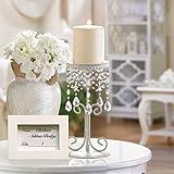 Classic by Casa Chic 10 Stück - Set Tischkartenhalter mit Rahmen - Gastgeschenke für Hochzeiten -...