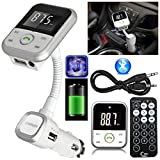 safekom Auto LCD-Display Wireless Bluetooth FM Radio Transmitter Audio Musik MP3-Player 3,5 mm AUX...