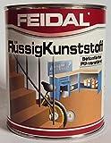 Feidal Flüssigkunststoff, zum Versiegeln und Beschichten von Betonböden, Farbton: Anthrazitgrau...