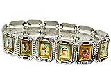 Armband - 12 Heiligenbilder