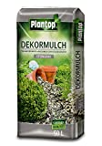 Rindenmulch Dekor 50 Liter Steingrau Deko-Mulch Dekormulch Plantop grau