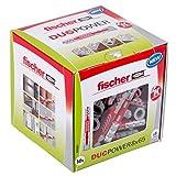 fischer DUOPOWER 8 x 65 - Universaldübel für eine Vielzahl von Baustoffen - Allzweckdübel für...