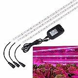 LED Pflanzenlampe,SOLMORE 3PCS LED Pflanzenlicht Strip Streifen Band Pflanzenleuchte Pflanzen...