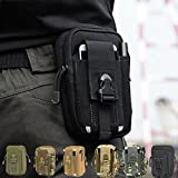 CAMTOA Leicht klein Tactical Hip Bag Hüfttasche Beintasche,Mode Multifunktional Handytasche für...