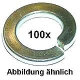 Dresselhaus Federringe DIN 127 verzinkt M7 127 Pck 100Stück 4001796076985