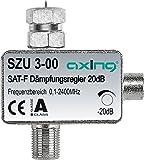 Axing SZU 3-00 SAT-Dämpfungsregler F-Anschluss (0,5-20 dB)