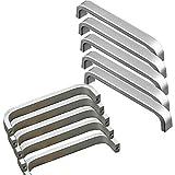 10 Stück Lochabstand - 96mm Solide Material Aluminiumlegierung Möbel Griffen Kabinett Griffe...