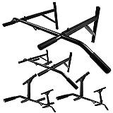 Profi Klimmzugstange für Wand- oder Deckenmontage mit rutschfesten Griffen von Trex (TX-33)