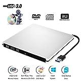Externes DVD CD Laufwerk, AIDOUT USB 3.0 DVD/CD Brenner für Macbook Pro/ Air / Laptops und Desktops...
