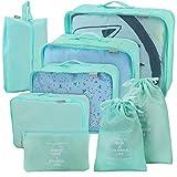 Joyoldelf 8 stück Kleidertaschen, verbesserte Koffer Gepäck Aufbewahrung Taschen Organiser für...