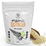 VITNA Organic Quinoa White Weiße-Bio-Quinoa 400 g, Quinoasamen, 100% Vegan, 100% Bio-Superfood,...