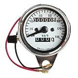 Motorrad Elektronischer Tachometer - SODIAL(R)Motorrad Mini Elektronischer Tachometer mit...
