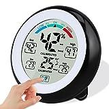 Digitales Thermo Hygrometer Thermometer,Solocil Digitales Monitor Temperatur und Luftfeuchtigkeit...