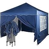 INSTENT Basic 3x3m Faltpavillon, Pavillon, WASSERDICHT (SGS geprüft) + UV-Schutz 50+ (TÜV...