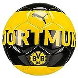 PUMA Bvb Fan Ball Fußball, Cyber Yellow-Puma Black, Mini