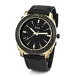 Mode Unisex Armbanduhr, Zarupeng Datum Kalender Herrenuhren Business-Uhr Legierung...