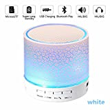 Night Light Bluetooth Speaker,Bluetooth ,Speaker Mini Wireless Portable Bluetooth Speaker With LED...