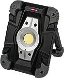 Brennenstuhl Akku LED Arbeitsstrahler / LED Strahler Akku (Außenleuchte 10 Watt, Baustrahler IP54,...