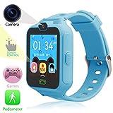 SUNTON Kinder-Handy Armbanduhr, Kinder-Digitalkamera mit Touchscreen, Kinder-Smartwatch für Spiele,...