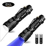 UV Taschenlampe LED, Morpilot taktische Taschenlampe schwarzlicht ,ideal für Haustiere...