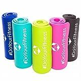 Fitnessmatte ideal für Pilates, Gymnastik, Heimsport und Yoga ab 0,8cm Dicke bis ca. 2cm / Maße...