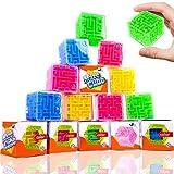 German Trendseller 12 x Ultra Cube - 3D Marble Puzzle ┃ Knobelspiele ┃ Klassiker ┃ Mitgebsel...