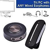 Avantree Plug & Play Wireless Audio Transmitter und Receiver SET für TV PC, Sender und Empfänger,...