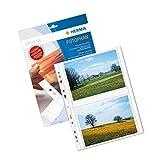 Herma 7563 Fotosichthüllen (100 x 150 mm) 250 Hüllen weiß