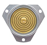 Präzise, große Dosenlibelle im robusten Aluminiumgehäuse, Durchmesser 35mm, Höhe 13mm, 3...