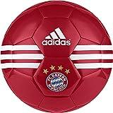 adidas Erwachsene FC Bayern München Fußball, Fcb True Red/White/Gold Metallic, 5