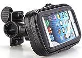 Wasserfeste Handy Fahrrad Motorrad Halterung Tasche Outdoor Navi Halter Smartphone Tasche Case Gr. L...