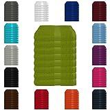 8 tlg. Handtuch-Set in vielen Farben - 8 Handtücher 50x100 cm - Farbe apfelgrün