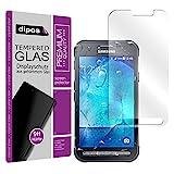 dipos Panzerfolie Samsung Galaxy Xcover 3 Glasfolie - Hartglas Schutzfolie 9H