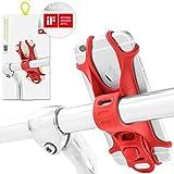Fahrrad Handyhalterung für alle Smartphones, rostfrei und bruchfest, patentiert und mit einem...