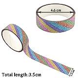 50Rollen Glitter Washi Tape Set, ideal für DIY Decor Klebeband Scrapbooking Aufkleber...