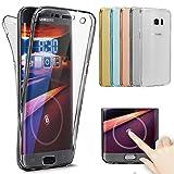 Galaxy S8 Hülle,Galaxy S8 Silikon Hülle,ikasus Galaxy S8 TPU Hülle [Full-Body 360 Coverage...