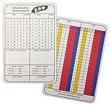 Schiedsrichternotizkarten für Handball - 100 Stück, 8x12cm, stabiler Karton, neue Generation...