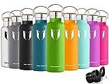 Super Sparrow Trinkflasche Edelstahl Wasserflasche - 750ml - Isolier Flasche mit...