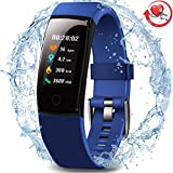 MorePro Wasserdichter Aktivitäts-Tracker, Farbdisplay Fitness Tracker mit...