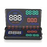 Head Up Display,5.5 ZOLL Universal HUD Car Auto Head Up Display OBD2 OBD KM RPM/Geschwindigkeit...
