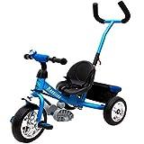 Dreirad Kinderdreirad Fahrrad Raceline Kinder Kleinkinder Baby ✔Sicherheitsgurt ✔abnehmbare...