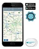 musegear® App Schlüsselfinder -mini - weiß - Schlüssel, Keys, Handy, Fernbedienung...