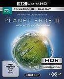 Planet Erde II: Eine Erde - viele Welten  (4K Ultra HD) (2 BR4K) (+2 BRs) [Blu-ray]