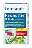 tetesept Reizhusten & Hals Lutschtabletten - zuckerfrei mit Füllung/Lutschpastillen bei...