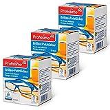 Brillen Putztücher - Feucht und fettlösend für eine streifenfreie Reinigung - 156 Stück - 3er...