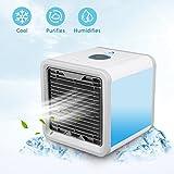 Tragbare Klimaanlage Luftkühler Air Cooler, Mini Mobiles Klimagerät...