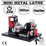 Weihnachtsgeschenk Ridgeyard Mini Turning Metal Lathe Metall Drehmaschine Machine speed dropped...