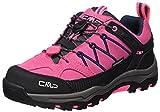 CMP Campagnolo Unisex-Erwachsene Rigel Low WP Trekking-& Wanderschuhe, Pink (Pink Fluo-Asphalt), 37...