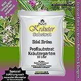 Kräutererde für Kräutergärten und Küchenkräuter. BIOerde Substrat - 10 Ltr. PROFI LINIE...